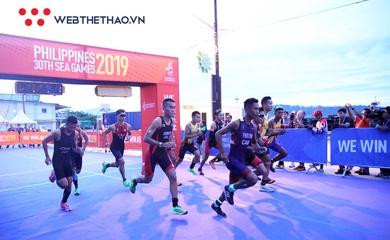 Triathlon chính thức thi đấu ở SEA Games 31 với 6 nội dung