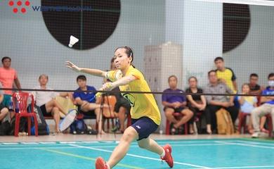 Đánh bại Vũ Thị Trang, Anh Thư vô địch giải cầu lông cá nhân TP.HCM 2020