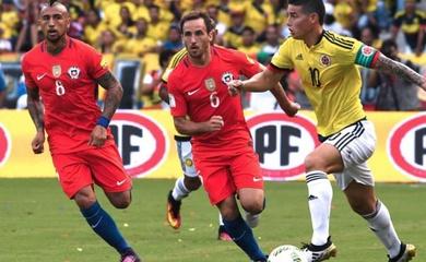 Nhận định Chile vs Colombia, 07h30 ngày 14/10, VL World Cup
