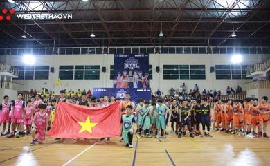 Khai mạc HYBL 2020 - ngày hội bóng rổ lứa tuổi U12 tại Hà Nội