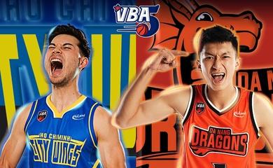 TRỰC TIẾP bóng rổ VBA 2020: Hochiminh City Wings vs Danang Dragons (19h00, 20/10)