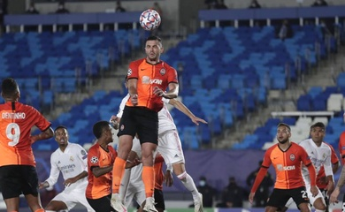 Video Highlight Real Madrid vs Shakhtar Donetsk, cúp C1 2020 đêm qua