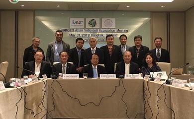 Liên đoàn bóng chuyền Đông Nam Á năm 2020 ra mắt nhiệm kỳ mới