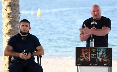Dana White liên tục ca ngợi số liệu về Khabib trước thềm UFC 254