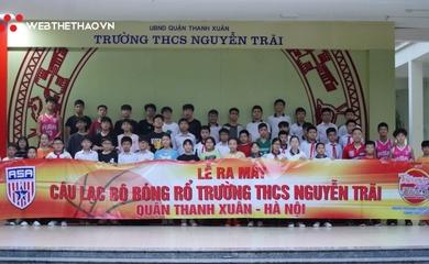 Ra mắt CLB bóng rổ ngoại khóa trường THCS Nguyễn Trãi