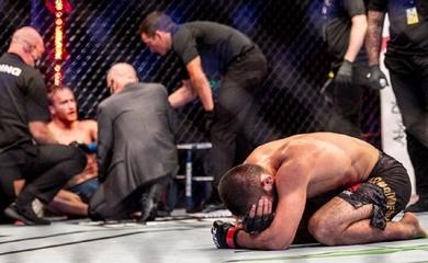 Khabib tuyên bố giải nghệ sau chiến thắng ở UFC 254