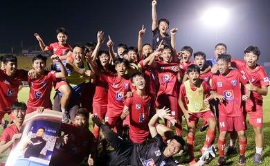 Chùm ảnh U15 PVF vỡ òa cảm xúc đăng quang vô địch VCK U15 Quốc gia 2020