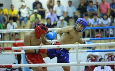 Chùm ảnh đẹp ngày Chung kết Giải Vô địch Kickboxing quốc gia
