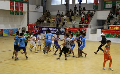 VCK Giải bóng đá Nhi đồng toàn quốc Cúp Kun Siêu Phàm 2020: Chủ nhà Phú Yên vào Bán kết