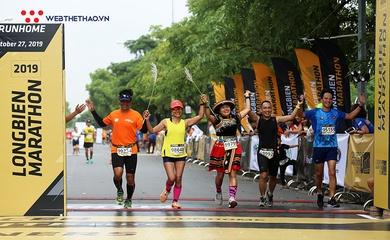 Longbien Marathon 2020 tăng trưởng chóng mặt, lập kỷ lục người chạy 42km