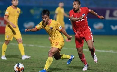 V.League đổi sân thi đấu của Hồng Lĩnh Hà Tĩnh vì bão số 9