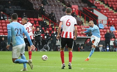 Video highlight Sheffield United vs Man City, Ngoại hang Anh 2020 hôm nay