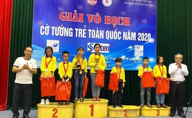 Giải Cờ tướng trẻ toàn quốc 2020: Đoàn TP.HCM thắng lớn!