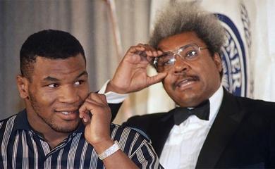 Mike Tyson từng hắt nước vào mặt Don King ngay tại Sảnh đường Danh vọng New York?