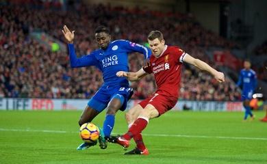 Lịch trực tiếp Bóng đá TV hôm nay 22/11: Liverpool vs Leicester City