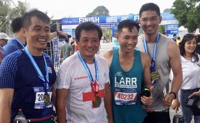 Ông Đoàn Ngọc Hải chạy 6 giải marathon liên tiếp trong 42 ngày, lại phá kỷ lục cá nhân dưới 5 giờ