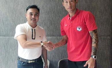 """Tân binh V.League Bình Định FC chiêu mộ trung vệ """"thép"""" của Sài Gòn"""