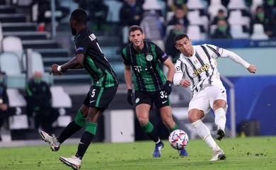 Video Highlight Juventus vs Ferencvaros, cúp C1 2020 đêm qua