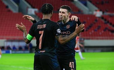 Video Highlight Olympiakos vs Man City, cúp C1 2020 đêm qua