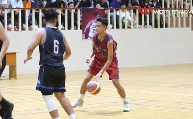 KẾT QUẢ BK nam Giải trẻ các CLB bóng rổ Hà Nội: Young Dragons 50-80 CDunk