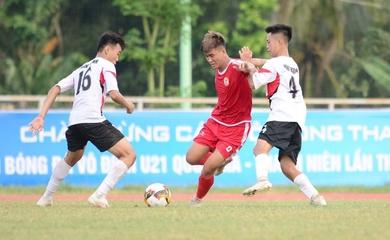 Kết quả U21 Vĩnh Long vs U21 Long An, U21 Quốc gia 2020