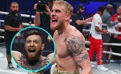 Youtuber Jake Paul đấm gục cựu sao bóng rổ Nate Robinson, thách thức Conor McGregor