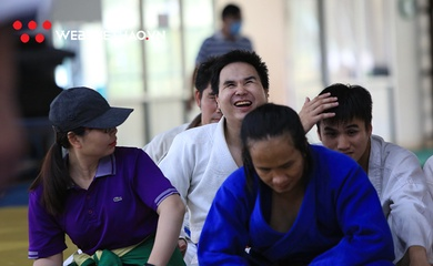 Nụ cười VĐV Judo khiếm thị toàn quốc năm 2020