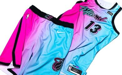 Miami Heat khiến fan phát cuồng với đồng phục City Edition ViceVersa
