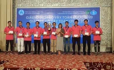 TP.HCM tiếp tục thể hiện sức mạnh ở Giải Vô địch và giải trẻ Cờ vây toàn quốc 2020