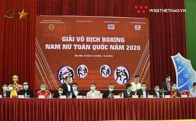 Giải Vô địch Boxing Quốc gia 2020 chính thức khởi tranh