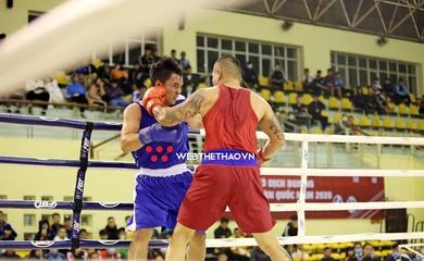 """""""Chùm ảnh nóng"""" ngày khai màn giải Boxing Vô địch quốc gia 2020"""