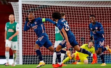 Video Highlight Arsenal vs Rapid Wien, Europa League 2020 đêm qua