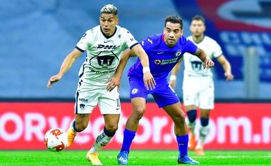 Kết quả Cruz Azul vs Pumas UNAM, VĐQG Mexico 2020