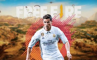 Free Fire hợp tác cùng siêu sao bóng đá Cristiano Ronaldo