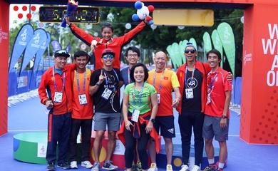 Ban vận động Liên đoàn Triathlon Việt Nam chính thức được công nhận