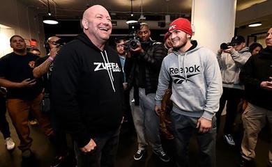 Khabib tiết lộ tham vọng đưa giải EFC trở thành 'sân sau' của UFC