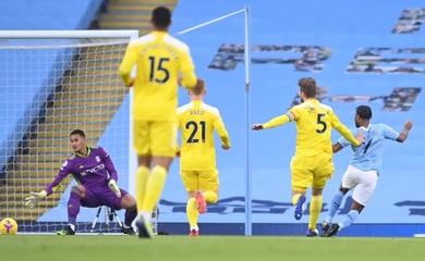 Video Highlight Man City vs Fulham, Ngoại hạng Anh 2020 hôm nay