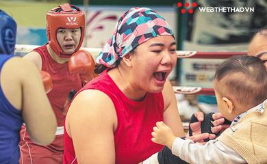 Màn tái xuất khó tin của bà mẹ bỉm sữa Lừu Thị Duyên và lời hẹn với Boxing SEA Games