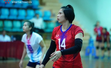 Bùi Thị Huệ xác lập kỷ lục 20 mùa liên tiếp tại giải bóng chuyền VĐQG cùng vị trí mới