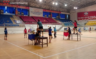 Hải Tiến Thanh Hóa tích cực tập luyện cho Cúp Hoa Lư - Bình Điền 2021