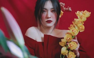Ngọc nữ Trần Việt Hương đẹp ma mị dưới góc máy Thanh Hương