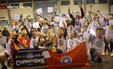 Hanoi Pitbulls Vô địch Hanoi Youth Basketball League 2020
