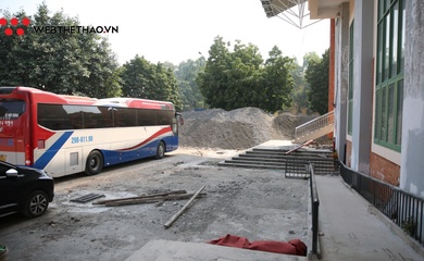 Sân bóng rổ SEA Games 31 tại Việt Nam: Ngổn ngang quá trình đại tu