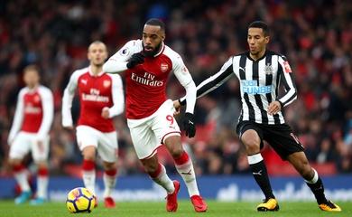Lịch trực tiếp Bóng đá TV hôm nay 18/1: Arsenal vs Newcastle