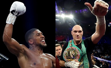 """""""Trận Tyson Fury vs Anthony Joshua đã hoàn tất đến 95%, chỉ chờ kí kết"""""""