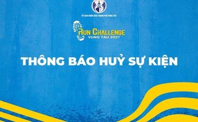 Vung Tau Run Challenge hủy tổ chức
