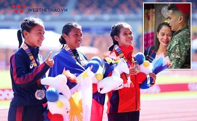 Đối thủ của Hồng Lệ - nhà vô địch marathon SEA Games khóc nức nở vì được cầu hôn