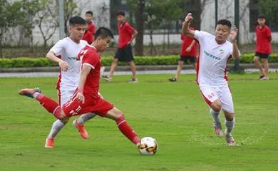 Trực tiếp bóng đá U19 quốc gia Việt Nam 2021 hôm nay 15/1: PVF vs Viettel