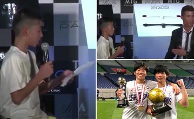 Cậu bé bị cười nhạo viết tiếp giấc mơ nhờ lời khuyên của Ronaldo