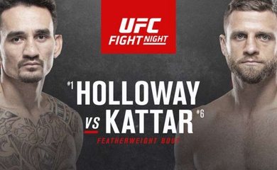 TRỰC TIẾP UFC Fight Island 7: Max Holloway vs Calvin Kattar